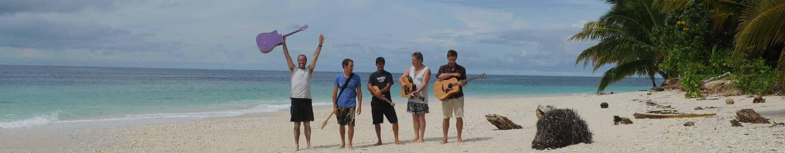 White Heat live in Mentawai